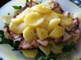 Carpaccio di Polipo e patate