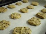 Biscotti nella placca