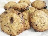 Biscotti di frolla al cioccolato sfornati